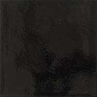 DON2020U02 Uni craqueles Noir 20x20
