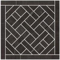 57382 Mosaico Carre Noir 20x20