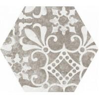 22099  Hexatile Cement Garden Grey 17,5x20 (17 видов паттерна) 17.5x20