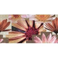 TES94907 Decor mosaico crema flor-2 25x50