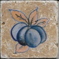 Керамогранит  с фруктами и едой Натуральный камень TES8145