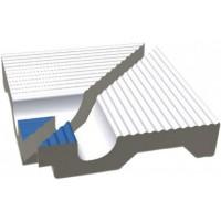 Керамическая плитка  противоскользящая (антислип) для бассейна RAKO XPI56005