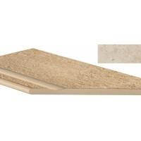 AEX5  Sunrock Jerusalem Ivory Bordo Piscina Angolo Dx LASTRA 20mm 30x60