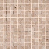CV20143 Mos.Turkish Travertine Tumbled+Sealed 2x2 30.5x30.5