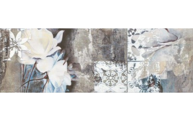 Керамическая плитка Slate Flower 1  20x60 Ceramika Konskie 40416