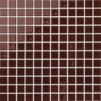 TERV44 Teres Mosaic Glass Chestnut 30x30
