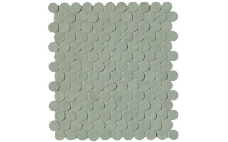 Мозаика Brooklyn Round Leaf Mosaico  29.5x32.5 FAP Ceramiche TES76548