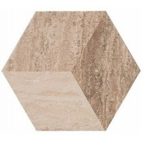 Керамогранит MMMQ ALLMARBLE TRAVERTINO DECORO Marazzi Italy