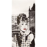 TES3557 LONDON Audrey Hepburn 118x59.5