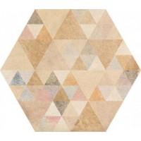 TES12831 Laverton Hexagono Benenden Multicolor Mix 23x26.6