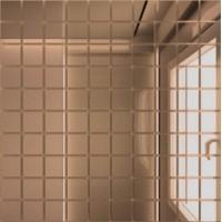 TES75203 Б25 зеркальная Бронза 25х25/300х300 30x30