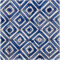 D01329N1E107 Lisbonne Bleu 10x10