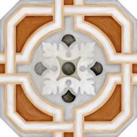 Octogono Zimer Multicolor g.156 20x20