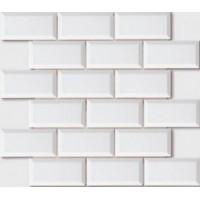 MEB0510D00 Mosaic Biseaute Blanc 0 30x30