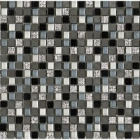 Мозаика IMPERIA MIX SILVER BLUE BLACKS (1,5X1,5) L'Antic Colonial