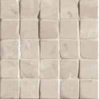 G30158 Foussana Sand Mosaico Lapp Rett 30x30 (tozz.6x6)