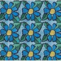 TES8837 Синие цветы 289.8x386.4