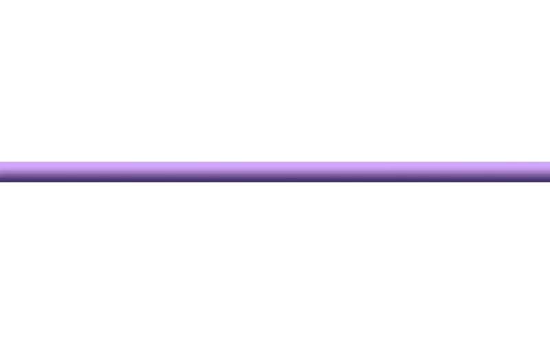 Керамическая плитка стеклянный лиловый  2x50 Ceradim TES7870
