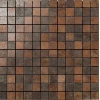TES77732 Metal Policromtico Lappato Mosaico 2.5x2.5 29.75x29.75