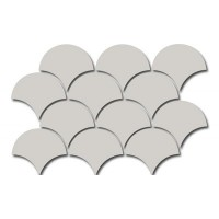 21982 FAN MOSAIC LIGHT GREY 30X43