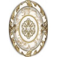 Brigitte Oro-Beige Medallon 14x10