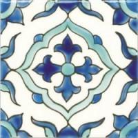 Керамическая плитка  белая 10x10  Diffusion Ceramique DOM1010C25