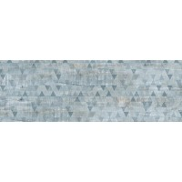 TES7368 Wood Classic Эго серо-голубой структурный Rett 120х39,5 39.5x120
