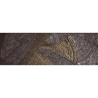 TES98592 DIAMOND DRAW DARK BROWN GOLD 20x60