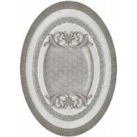TES96653 Venecia Plata-Gris Medallon 14x10 10x14