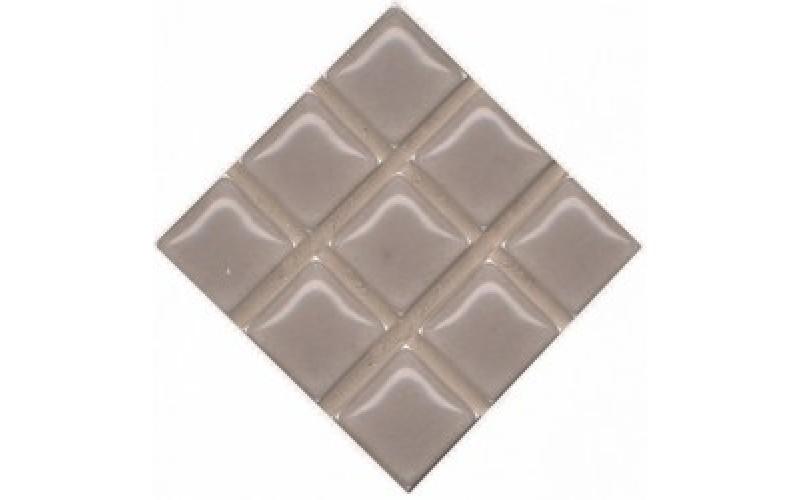 Керамическая плитка  Александрия серый 4,6х4,6 4.6x4.6 Kerama Marazzi POG002