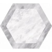 23771  BARDIGLIO HEXAGON GEO 17,5х20 17.5x20