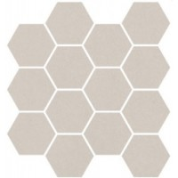 214511  Studio 1 Mosaico Hexagon Ivory 24,5x24,7 24.5x24.7