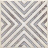 STG/A403/1266 Амальфи орнамент коричневый 9.9*9.9