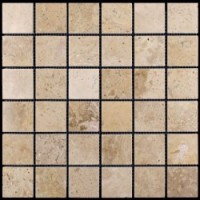M090-48P (Travertine) Травертин 48х48 305х305