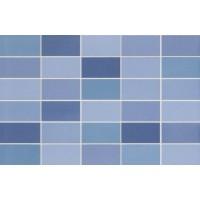 Керамическая плитка  голубая DS82