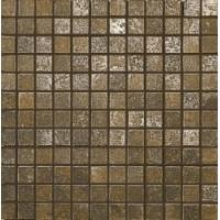6HF2L44  Fucina Comp. Mosaico 144pz Bronzo Aureo 30x30