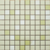 080015 Allegria Mosaico Menta 25x25