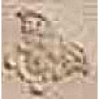 118134  Palace Gold GIROSPECCHIO MEDUSA CREAM 7x7