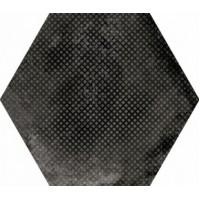 23604  Urban Hexagon Melange Dark 29,2X25,4 29.2x25.4