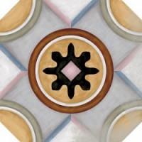 Octogono Musichalls Multicolor 20x20 g. 156 MIX