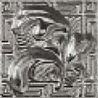 118141 Palace Gold GIROSPECCHIO FOGLIA SILVER 7x7