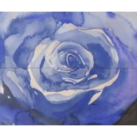 Arabeski blue panno 02 60x50
