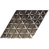 Diamond Statuario Waves Anthracite 7x40