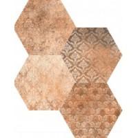 TES14256 Abadia Decor Hex mix 25x22