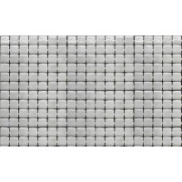 Мозаика для фартука белая 2522-B Ezarri