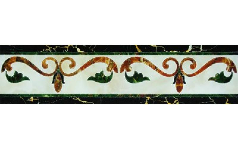 Керамогранит Castello Fronzola Cenefa Crema  15x60 Infinity Ceramic Tiles 123942