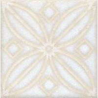 STG/B402/1266 Амальфи орнамент белый 9.9x9.9