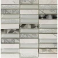 Мозаика для фартука белая Intermatex TES76352