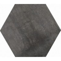 8BF14ES Apogeo14 Esagona Black L19.5 33.5x29.5