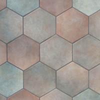 925610 Керамогранит HEXATILE MUSGO Equipe Ceramicas 17.5x20